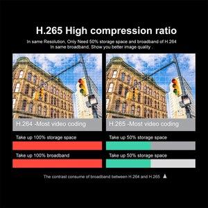 Image 5 - 4CH אודיו שיא 5MP H.265 HD בית Wifi אלחוטי טלוויזיה במעגל סגור מצלמה מערכת NVR סט ערכת מעקב וידאו IP מקורה אבטחה מצלמה