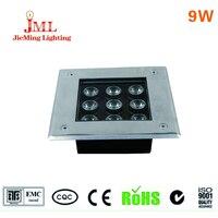 Hot Sales 12v 24v LED Underground Light IP67 Waterproof Use Alumiunm Material Contras 3 Led Light