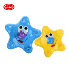 2017 New Baby Kids Bathroom Funny Water Starfish Electronic Bath Toys Summer water toys Fountain With Box(China)