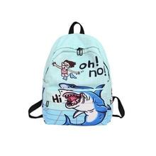 YIYONGFINE Doodle Student Backpack Fashion Cartoon Women High Capacity Travel Organizer 4 Styles Mochila Mujer