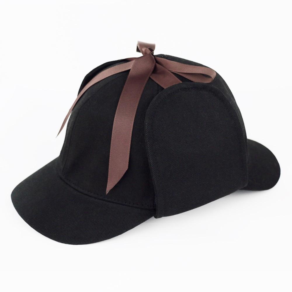 cf6d52f6 Cosplay Sherlock Holmes Hat Novelty Gifts Deerstalker Hat Detective Cap  Unisex Movie Costumes Flat Caps Hip Hop Accessories