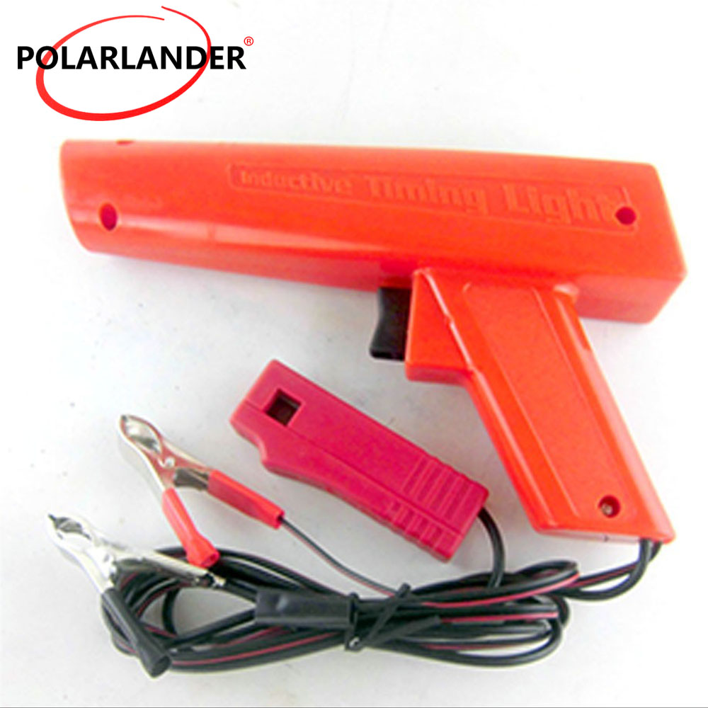 Car Diagnostic Tool Polarlander Professional Ignition Strobe Engine Inductive Timing Light Ignition Timing Light