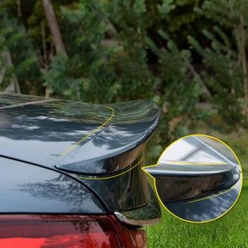 カースタイリングabsプラスチック塗装入門尾翼リアトランクスポイラー装飾カバーフィット用マツダ6 m6アテンザ2014 2015 2016