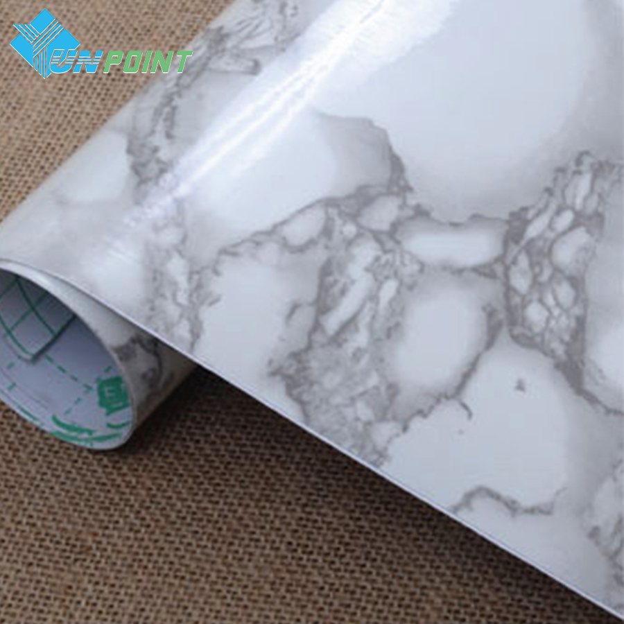 Aliexpress.com : Buy 60cmX5m Marble Self Adhesive Wall Paper Roll Modern  PVC Wallpapers For Living Room Kitchen Furniture Vinyl Stickers Home Decor  From ...
