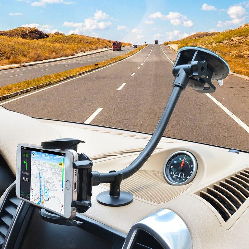 Cobao универсальный держатель телефона Стенд высокой мощностью всасывания лобовое стекло автомобиля мобильного телефона Аксессуары для сма…