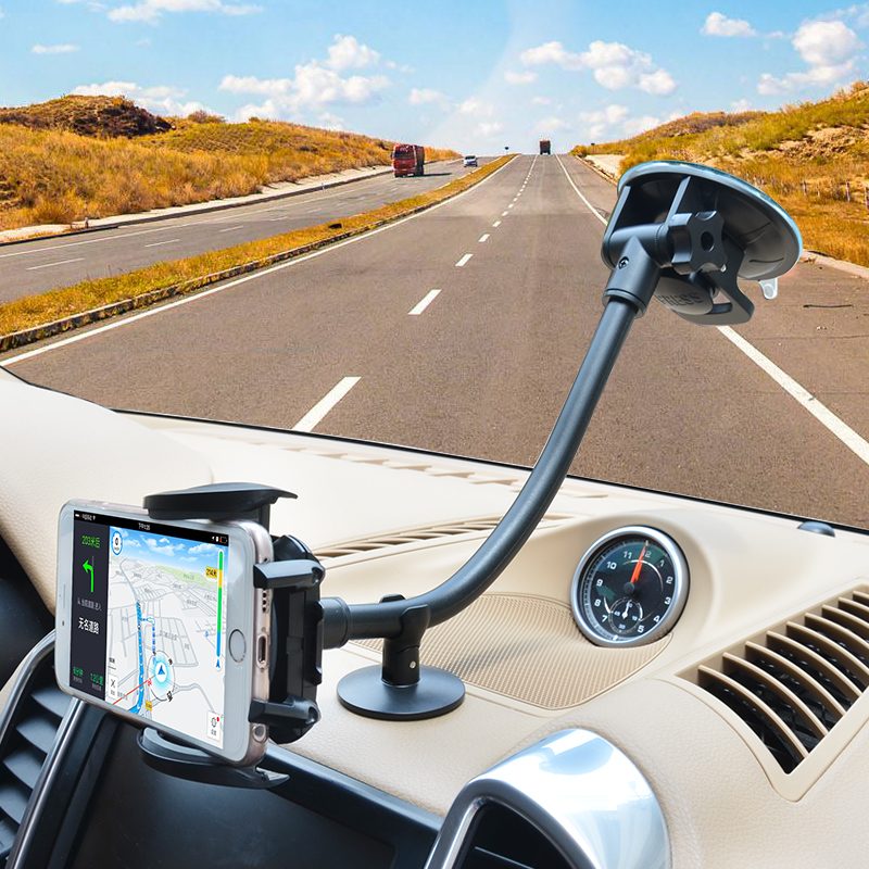 Cobao universal phone holder stand strong suction windshield car mount mobile phone accessories for font b