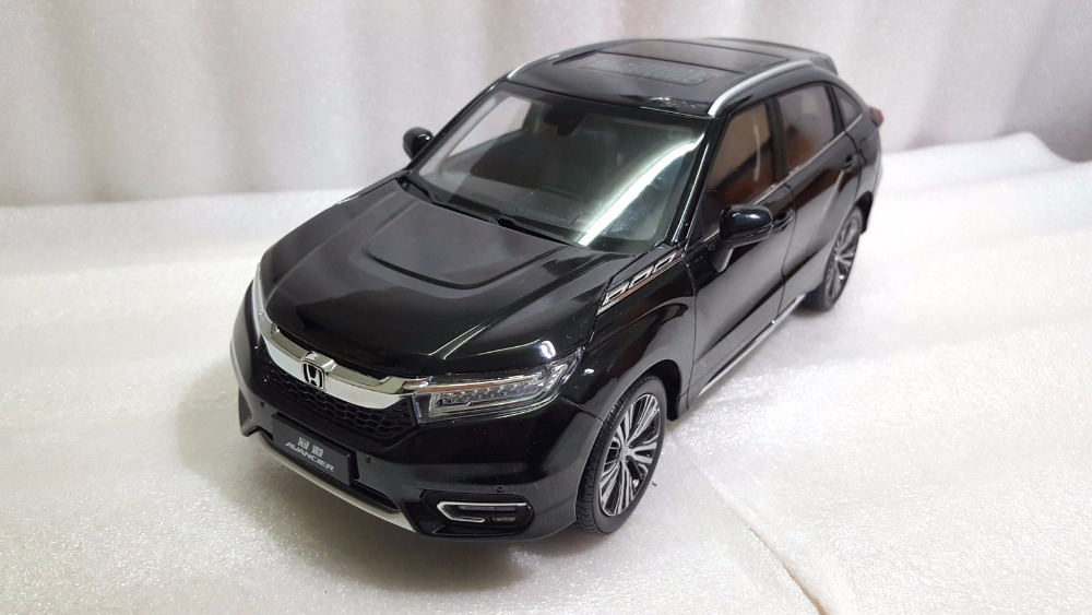1:18 Diecast Model for Honda Avancier 2016 Black SUV Alloy Toy Car Miniature Collection Gifts