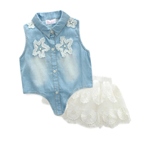 Real Photo 2015 Summer Minnie Short Sleeve T Shrit Free Necklace Rose Tutu Veil Dresses
