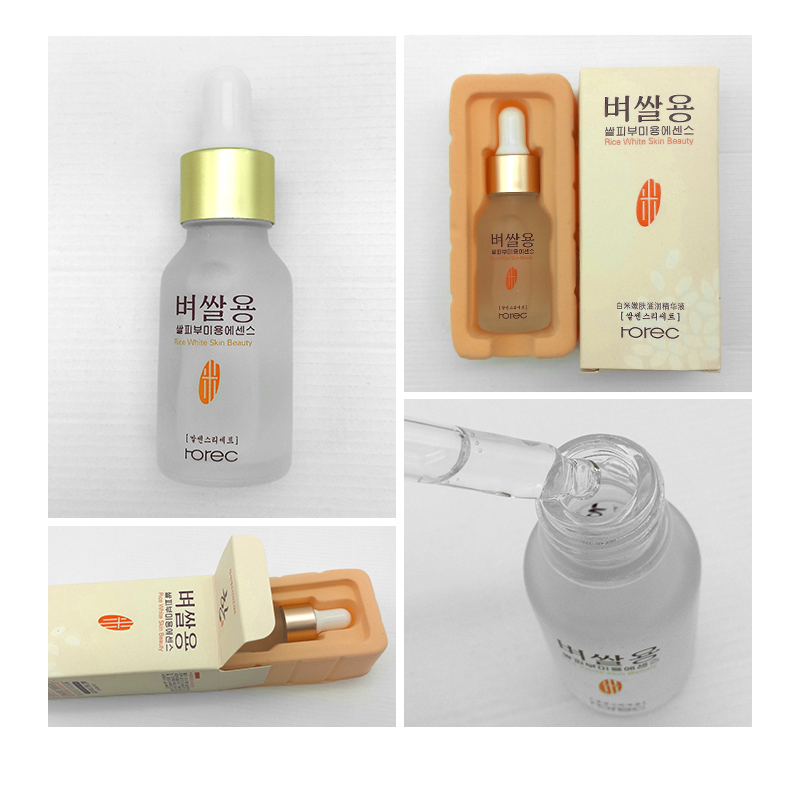 HOREC White Rice Whitening Serum Face Moisturizing Cream