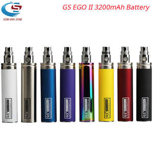 Original GS EGO II 3200mAh Electronic Cigarette Battery For eGo CE4 Atomizers e-cigarette Battery vs GS Ego II 2200mah Battery