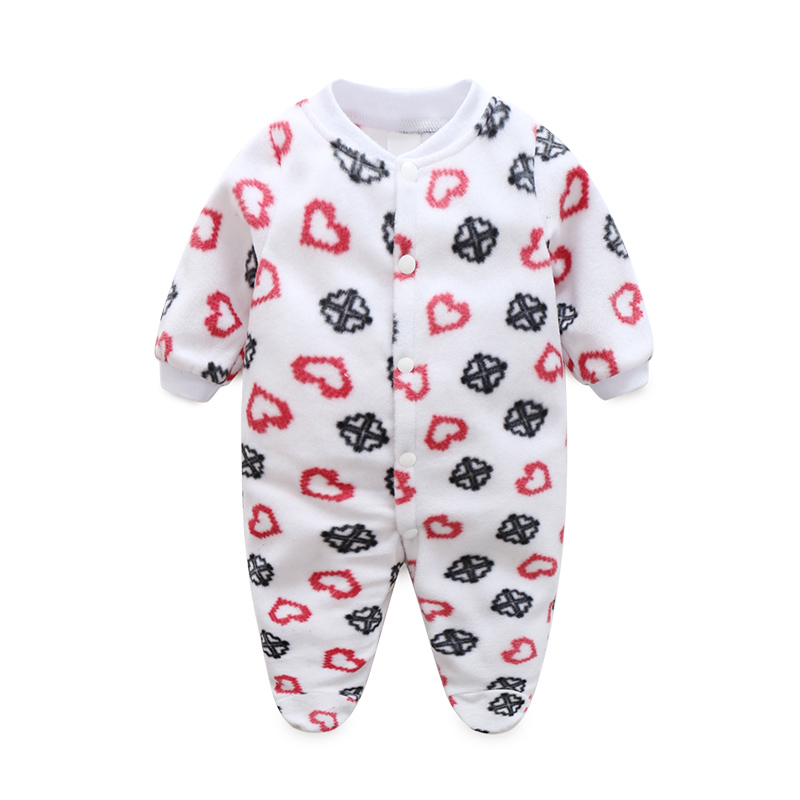 newborn clothing baby boy girl footies fleece one piece. Black Bedroom Furniture Sets. Home Design Ideas