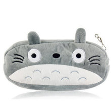 Popular 20CM Approx TOTORO Plush Toy BAG Plush Cover Coin BAG Purse Design Keychain Plush Toy(China)