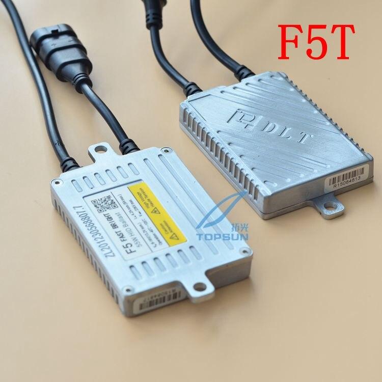 Бренд DLT балласт F3T 35 Вт, F5T 55 Вт, F7T 70 Вт Быстрый старт AC цифровой ксеноновый балласт яркий за одну секунду хорошая цена - Цвет: 12V 55W F5T