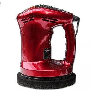 Image 1 - 12V 80W Mini Car Polisher Machine Waxing Polishing Car Paint Care Tool Polishing Machine Sander 150mm