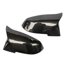 Для замены BMW углеродного волокна крыло заднего вида зеркало заднего вида крышки для 1 2 3 4×1 f20 f22 f30 gt f32 f33 f34 f36 м2 f87 E84
