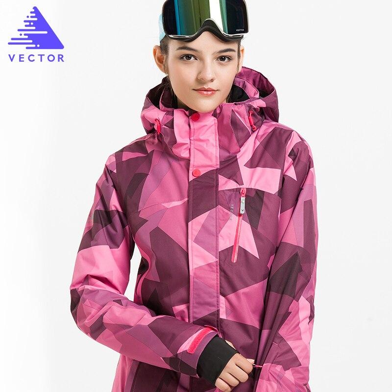 Vestes de Ski d'hiver de marque VECTOR vestes de Snowboard imperméables thermiques en plein air vêtements d'escalade de Ski de neige HXF70002