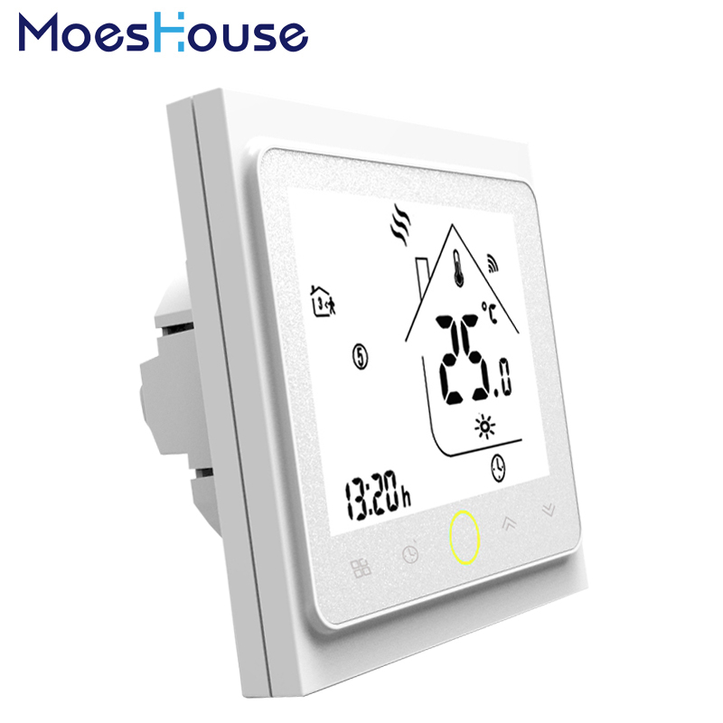все цены на Thermostat Temperature Controller LCD Touch Screen Backlight for Water floor Heating 3A Weekly Programmable