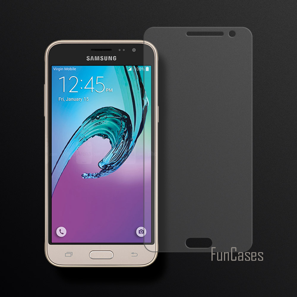 Tempered Glass For Samsung Galaxy J3 2016 J320 J320F Screen Protector Film For Samsung Galaxy J3 2016 2.5D Curved Edge Screen