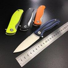 WTT Gấu Folding Pocket Knife D2 Tiện Ích Chiến Đấu Hunting Survival Flipper Dao Mang Chiến Thuật Ngoài Trời EDC Công Cụ Đa F95 EVO
