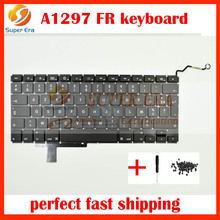 perfect testing 17″ A1297 French Keyboard For Macbook Pro A1297 FR France French Keyboard Without Backlight 2009 2010 2011year