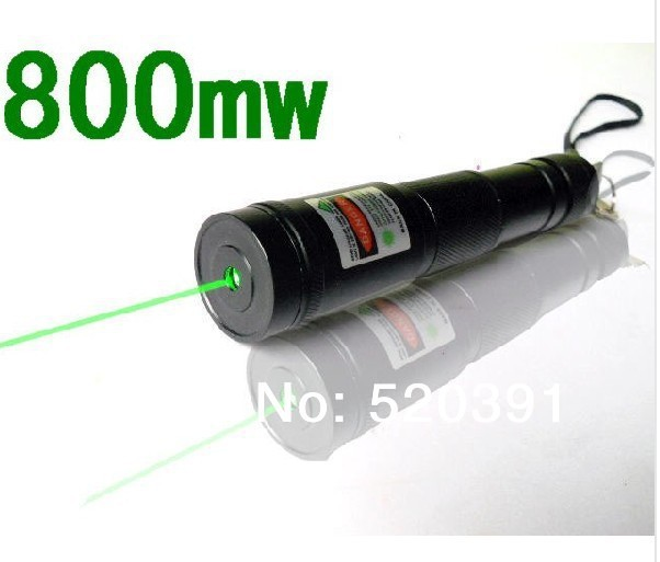 Super Powerful power military 800mw 532nm green laser pointer Flashlight burn matches,burn cigarettes+charger+gift box+safe key