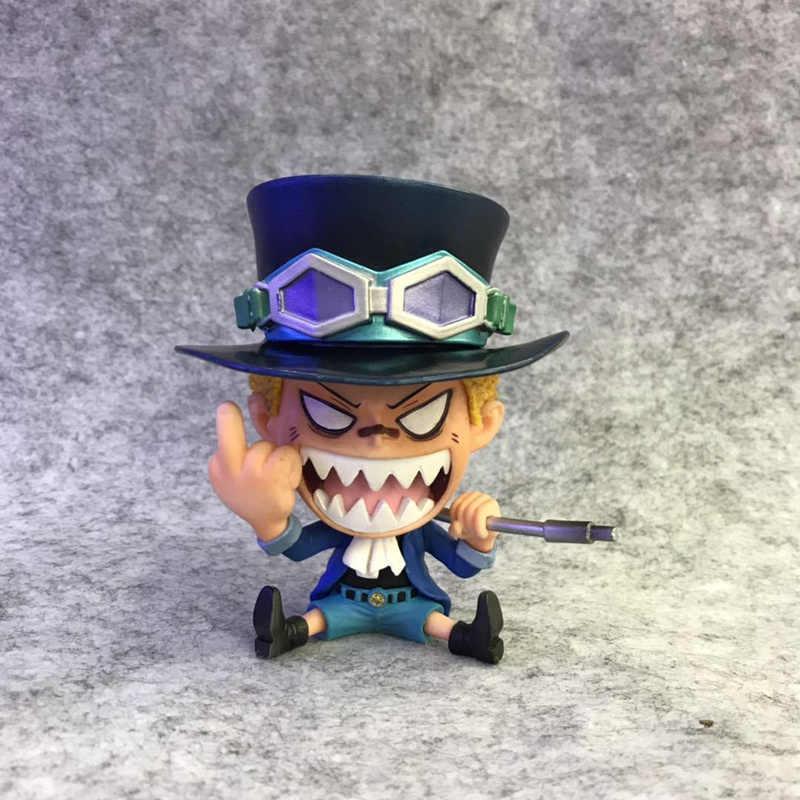 Аниме One Piece сабо положении сидя Ver ПВХ фигурка Коллекционная модель игрушки куклы 10 см