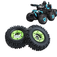 2017 Preety 2PCS Wltoys 12428 12423 1 12 RC Car Spare Parts Right Wheels Tires Replacement