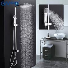 GAPPO paredes de la ducha baño grifo de la ducha bañera baño grifo de la ducha pared de la ducha grifo de la Bañera grifo mezclador cromado G2408