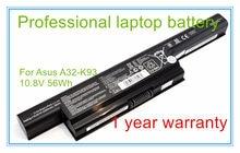 10.8 V 56Wh Laptop Original Bateria A32-K93 Para K93 K93S K93SV A93 A95 A32-K93 A41-K93 A42-K93 6 CÉLULAS