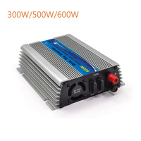 Free Shipping 600W Solar Grid Tie Inverter MPPT Function 22 60VDC input 110V 230VAC Micro On Grid Tied Pure Sine Wave Inverter