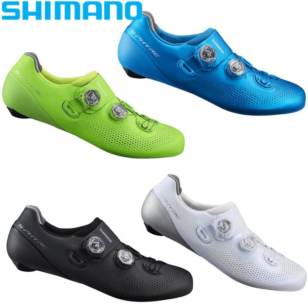 2018 NOUVEAU SHIMANO RC9 S-Phyre Route Chaussures SPD SL Vélo De Route Vélo RC901