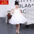 JEREMIAH Flower Girls Dress High Quality Tutu Dress for Girls White Party Dress For Girl Children Wedding Dress for Girls
