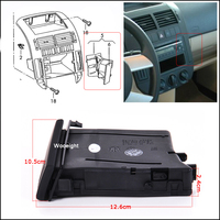 Car Dashboard Right Center Console Water Drink Cup Holder 6Q0 858 602 G For VW Polo 9N 2002 2010 Car Accessories