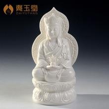 Feng Shui Dai Yutang Dehua ceramic statues of porcelain ornaments/7 inch screen Ksitigarbha bodhisattva D21-07E