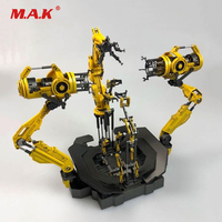 1/12 Scale Suit up Gantry Iron Man Diecast Alloy Armour Dismantling Station Toys