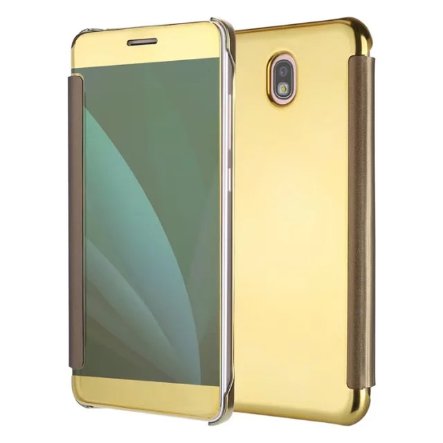 custodia samsung j7 2017 gold