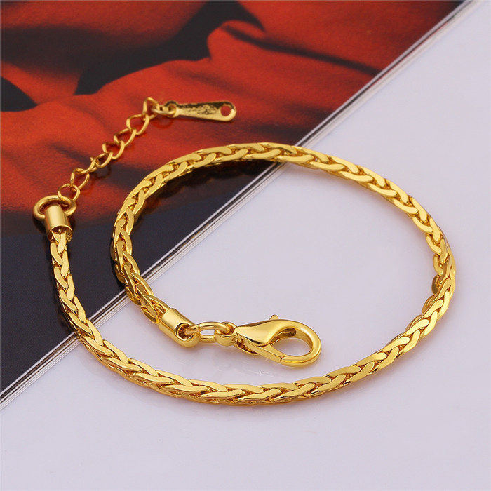 Alibaba Hot Sale Fake Light Weight Gold Jewelry Bracelet Hand ...