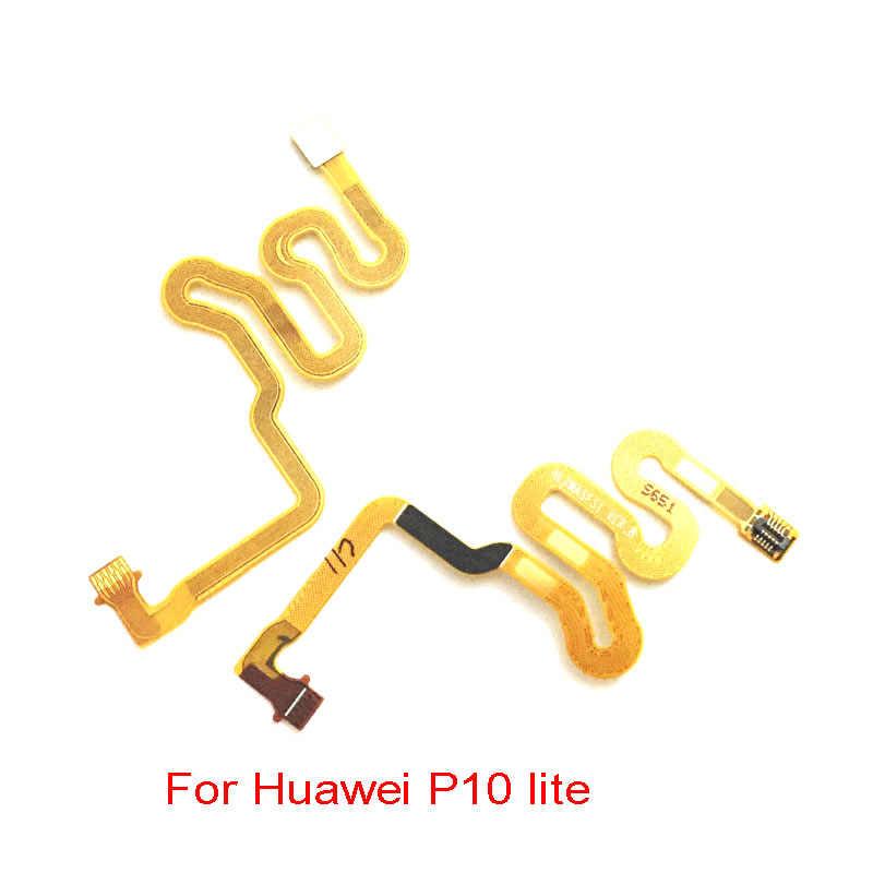 ホームボタン指紋タッチ Id センサーコネクタフレックス Huawei 社メイト 10 P20 P10 Lite 名誉 8 8x9 9i 1080p スマート Y9 2019 ノヴァ 3 3i