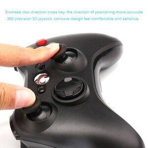 Image 4 - Contrôleur de manette de jeu 3D USB filaire double vibration 360 contrôleur de jeu dordinateur de précision pour Steam Win98/ME/2000/XP/Win7 8