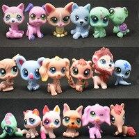 Yandex Anime Pet Shop 24pcs/set LPS lol Q Pet Mini Doll Hand Decoration Collection Model Dolls PVC Funny Children's Toys