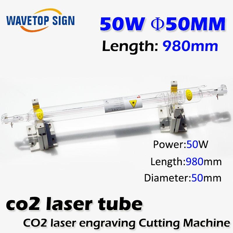co2 glass tube 50w laser tube 50w length 980mm diameter 50mm 16 50mm 9 0mm laser diode housing w 405nm glass lens