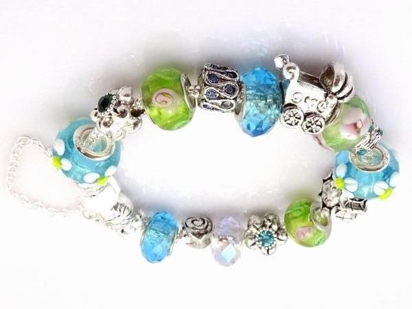 Hot!Free Shipping wholesale 925 Sterling Silver jewelry charms bracelet . clear crystal beads bracelet  Pp05