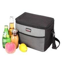 Сумки для пикника изотермическая изолированная сумка холодильник Ланч-бокс пляж холодильник кемпинг путешествия барбекю принадлежности для барбекю пивные напитки корзина