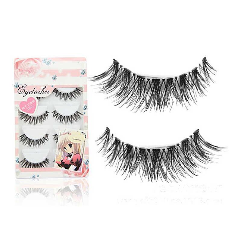 38bca9d4b7a 30Pair/Lot Crisscross Cheap False Eyelashes Eyelash Extensions Fake Lashes  Voluminous Fake Eyelashes For Eye