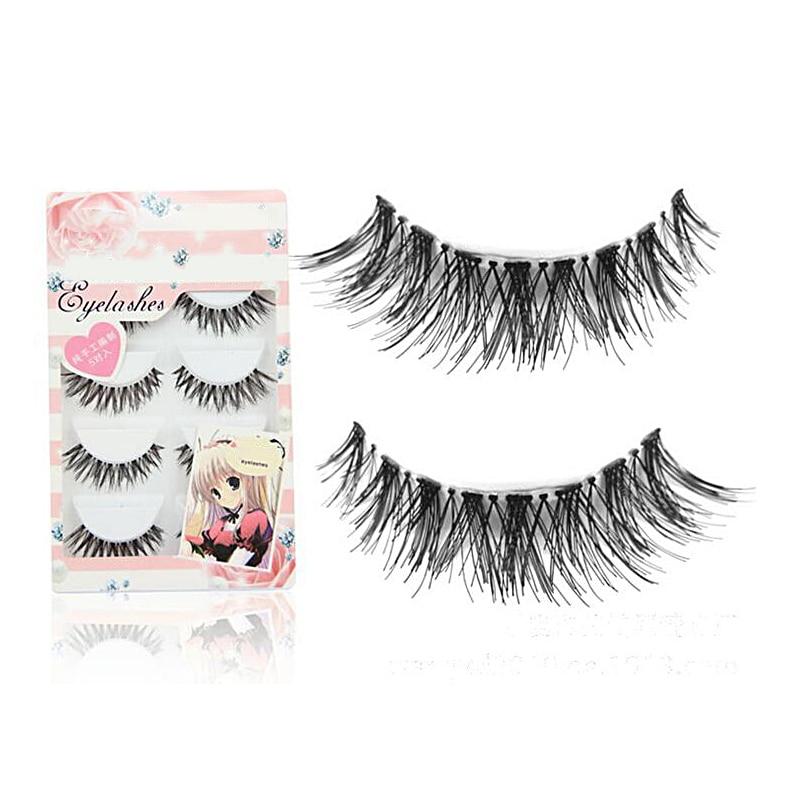 30Pair/Lot Crisscross False Eyelashes Eyelash Extensions Fake Lashes Voluminous Fake Eyelashes For False Eye Lashes Makeup Tool