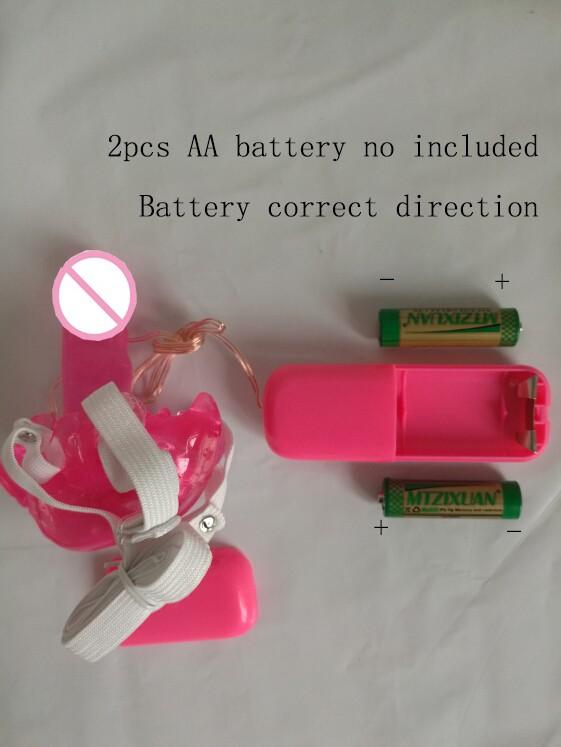 Portable Wearable 70*25mm Female Masturbation Butterfly dildo Vibrators For Women Vaginal Massage G Spot Stimulation Sex Toys
