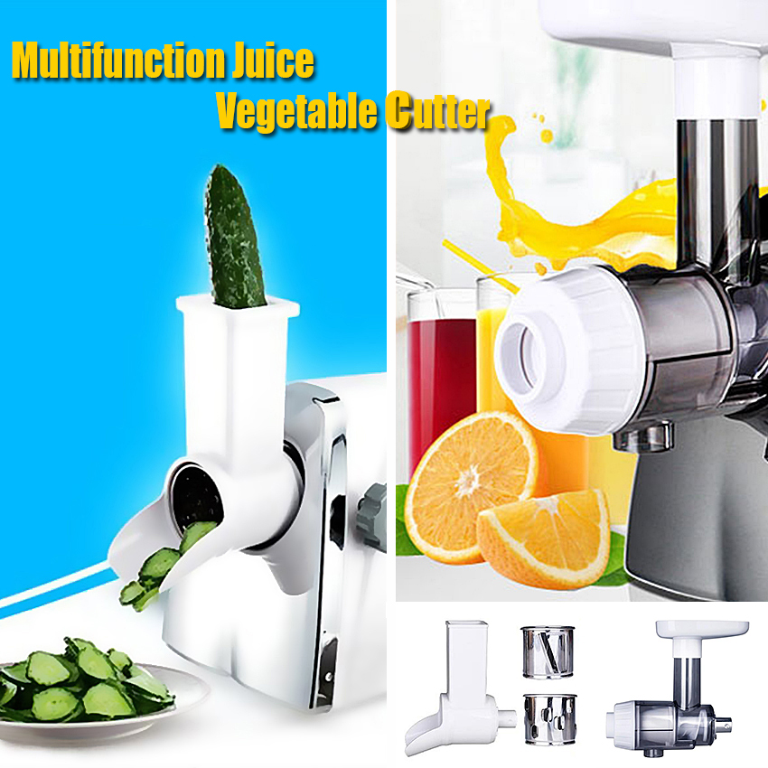 1PC Household electric multifunction juice vegetable cutter juice maker Electric juicer vegetable cutter