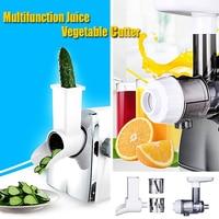 1Pc Huishoudelijke Elektrische Multifunctionele Sap Groentesnijder Sap Maker Elektrische Juicer Groente Cutter