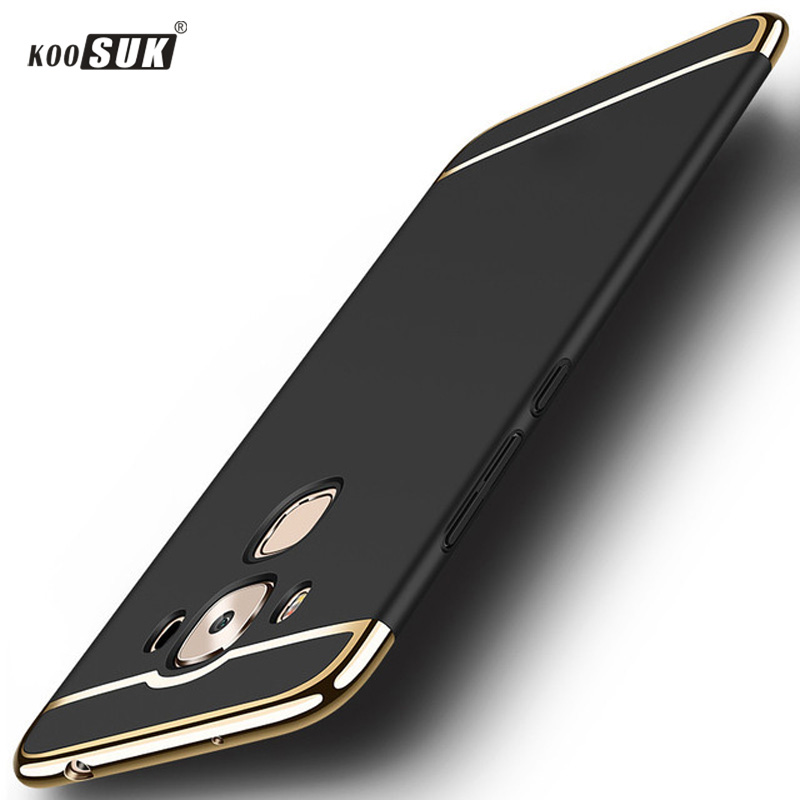 KOOSUK PC Case For ASUS ZenFone 3 Max ZC553KL in 1 Full Protection Luxury Housse Asus Cover 5.5