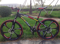 26 21 Speed Black Rainbow Classic Men S Mountain Bike Cycling Road Bicycle Double Disc Brake